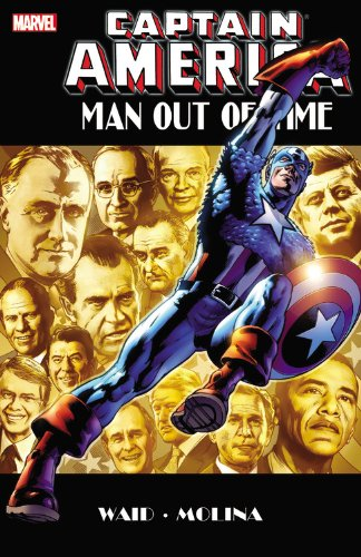 9780785151296: Captain America: Captain America: Man Out Of Time Man Out of Time (Marvel Us)