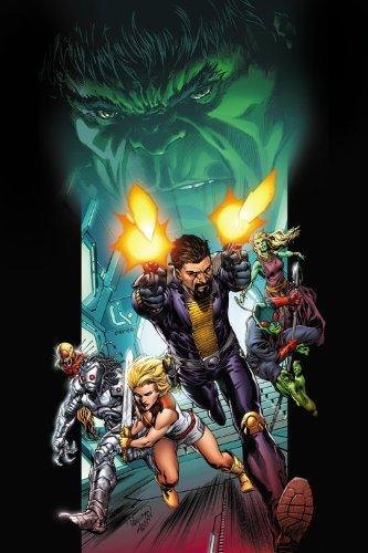 Incredible Hulks: Enigma Force: Dark Son: Reed, Scott