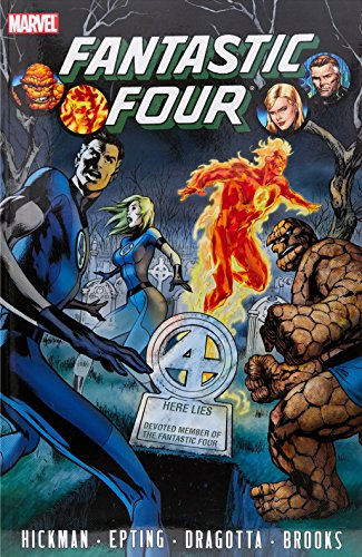 9780785151432: Fantastic Four by Jonathan Hickman, Vol. 4