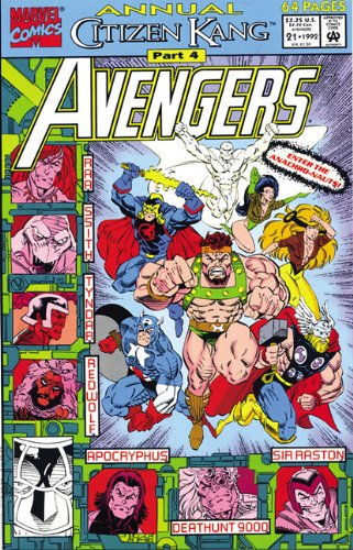 Avengers: Citizen Kang: Roy Thomas