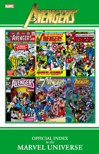 9780785155225: The Avengers Official Index to the Marvel Universe