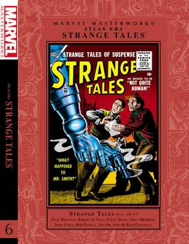 9780785159292: 49-57: Marvel Masterworks: Atlas Era Strange Tales Volume 6