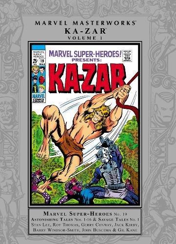 9780785159575: MMW KA-ZAR 01 HC (Marvel Masterworks)