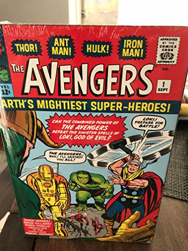9780785160151: The Avengers Omnibus Jack Kirby Dm Exclusive Variant (Volume 1)
