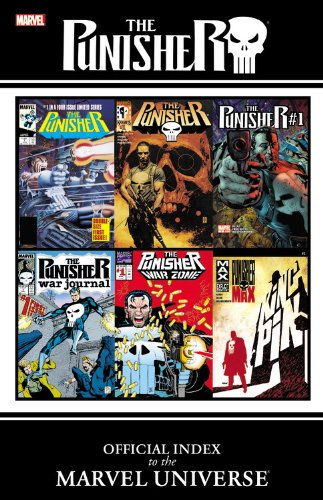 9780785162025: Punisher: Official Index to the Marvel Universe
