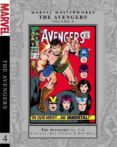 9780785163602: Marvel Masterworks: The Avengers - volume 4