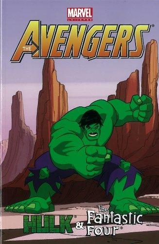 9780785165590: Marvel Universe Avengers: Hulk & Fantastic Four (Marvel Adventures)