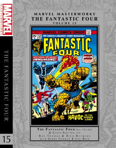 9780785166252: Marvel Masterworks: The Fantastic Four Volume 15