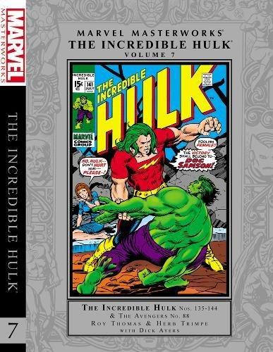 Marvel Masterworks: The Incredible Hulk - Volume 7: Thomas, Roy; Ellison, Harlan; Friedrich, Gary