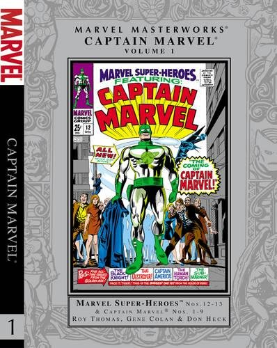 9780785167563: Marvel Masterworks: Captain Marvel - Volume 1
