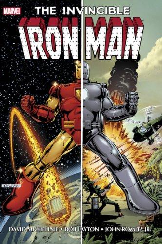 9780785167679: Iron Man by Michelinie Layton Omnibus DM Variant Edition