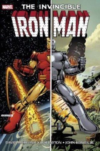 Iron Man by Michelinie Layton Omnibus DM: David Michelinie
