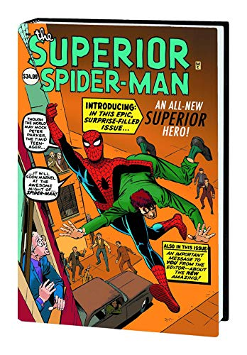 9780785185222: The Superior Spider-Man HC (2013 Marvel Now) Steve Ditko Variant Cover