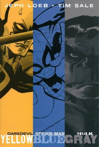 9780785188315: Jeph Loeb & Tim Sale: Yellow, Blue and Gray