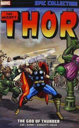 Thor Epic Collection: the God of Thunder (Paperback): Stan Lee