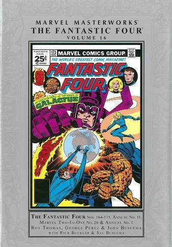 9780785188452: Marvel Masterworks: The Fantastic Four 16