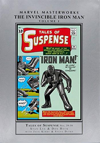 Marvel Masterworks: The Invincible Iron Man Volume 1 (New Printing): Lee, Stan