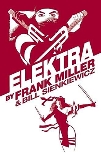 9780785195566: Elektra by Frank Miller Omnibus (New Printing)