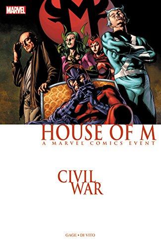 9780785195740: Civil War: House of M