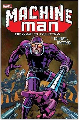 Machine Man by Kirby & Ditko: The Complete Collection: Jack Kirby; Tom DeFalco; Steve Ditko
