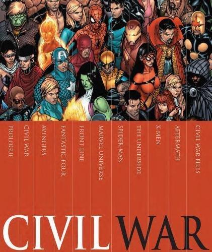 Civil War Box Set: Mark Millar; Steve McNiven; Various Various