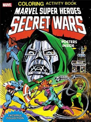 9780785198154: Marvel Super Heroes Secret Wars Activity Book Facsimile Edition