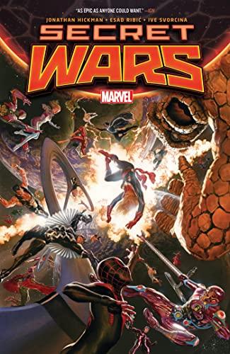 Secret Wars (Paperback): Jonathan Hickman
