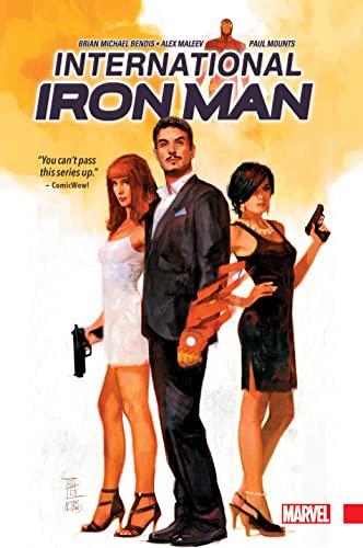 International Iron Man: Brian Michael Bendis