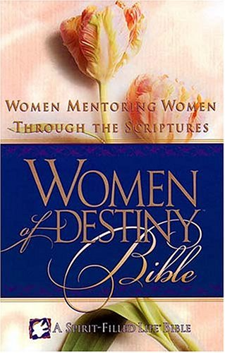9780785200048: Women of Destiny Bible: Purple, Bonded Leather: Women Mentoring Women Through the Scriptures