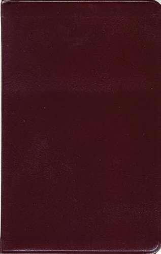 9780785200390: KJV ULTRASLIM BIBLE, BONDED LEATHER BURGUNDY INDEXED