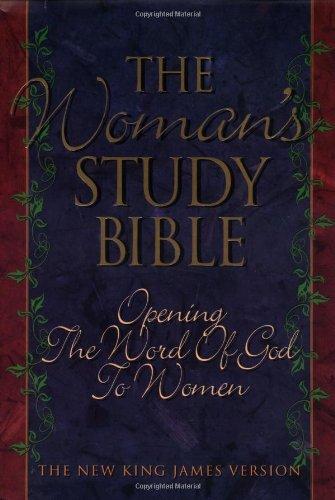 9780785200697: Holy Bible New King James Version Woman's Study Bible
