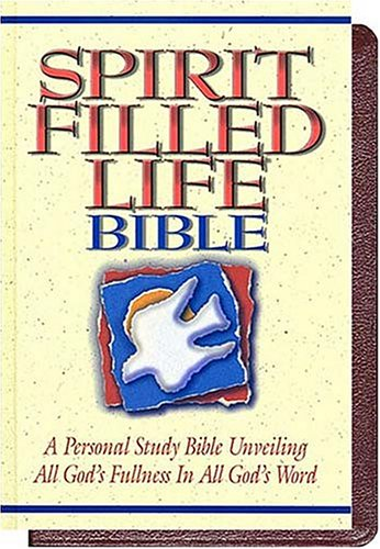 9780785200741: Spirit-Filled Life Bible: New King James Verion : Burgundy, Genuine Leather, Gold Edges