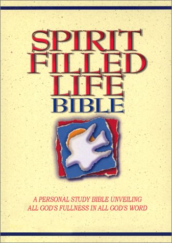 9780785200758: Spirit Filled Life Bible New King James Version: Burgundy, Gunuine Leather, Gilded-Gold Page Edges