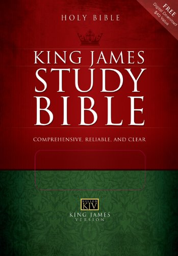 9780785201687: Holy Bible King James Version Study Bible (Burgundy)