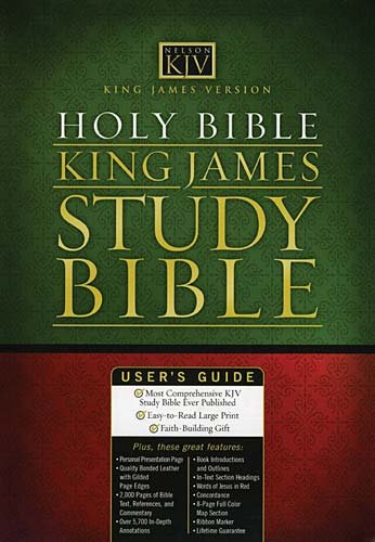 9780785201694: King James Study Bible
