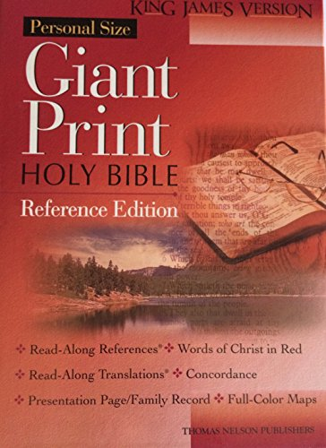 9780785202615: Holy Bible King James Version Personal Size Giant Print/Green Indexed