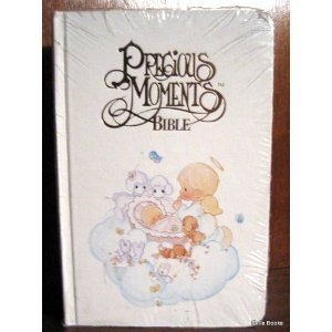 9780785203575: Precious Moments Bible -Baby Edition - New King James Version (NKJV), White 50034, 202PM