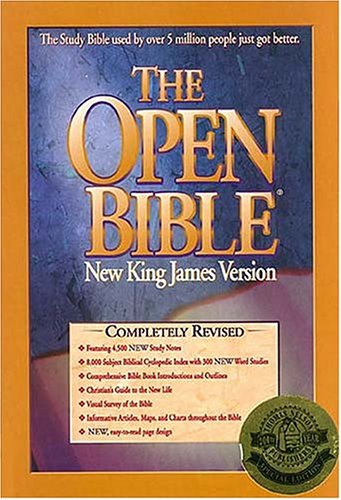 9780785204329: The Open Bible: Completely Revised, Featuring 4,500 New Study Notes