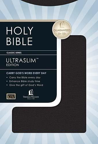9780785204480: Holy Bible: King James Version, Black, Ultraslimline