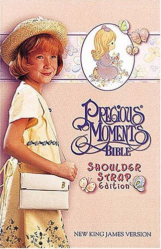 9780785204534: Precious Moments Bible, Small Hands, Shoulder Strap Edition