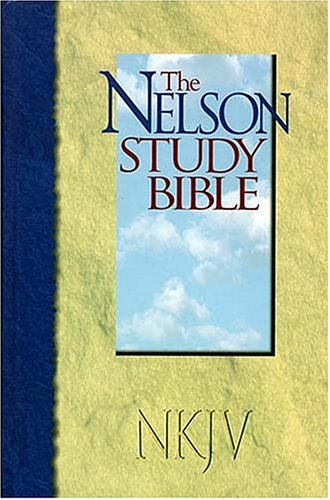 Nelson Study Bible The Most Comprehensive Study Bible Available: Thomas Nelson