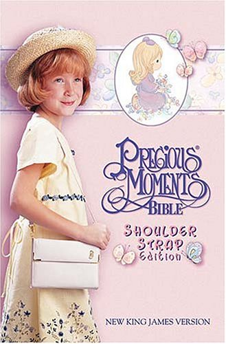 9780785204855: Precious Moments Bible, Small Hands, Shoulder Strap Edition
