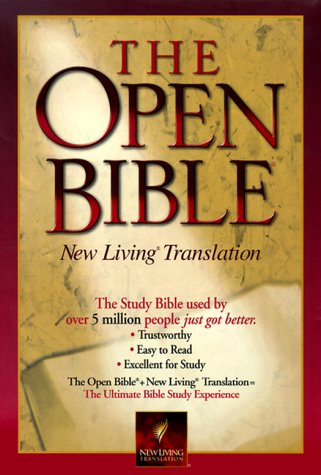 9780785205388: The Open Bible (New Living Translation)
