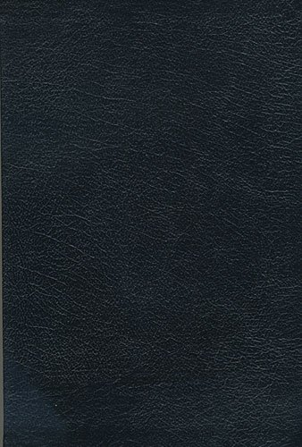 9780785209164: King James Study Bible (Black Genuine Leather Thumb-Indexed)