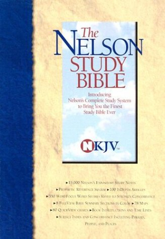 9780785209546: The Nelson Study Bible