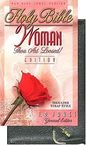 9780785209805: Holy Bible- Woman Thou Art Loosed Edition: New King James Version : Black Shoulder Strap : Bonded Leather