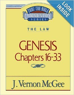 9780785210023: Thru the Bible; Genesis: chapters 16-33