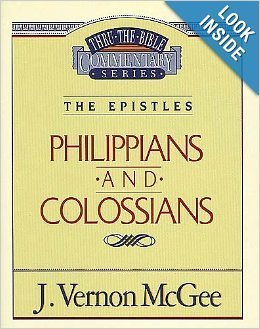 9780785210528: Philippians and Colossians: The Epistles (Thru the Bible)