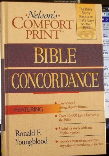 9780785212140: Nelson's Comfort Print Bible Concordance