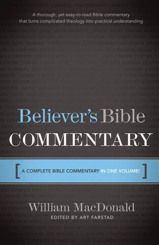 9780785212164: Believer's Bible Commentary